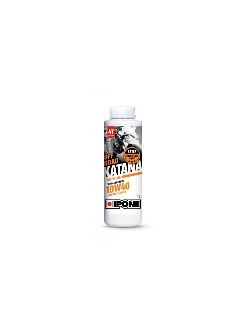 IPONE масло в двигатель KATANA Offroad 10w40 1L