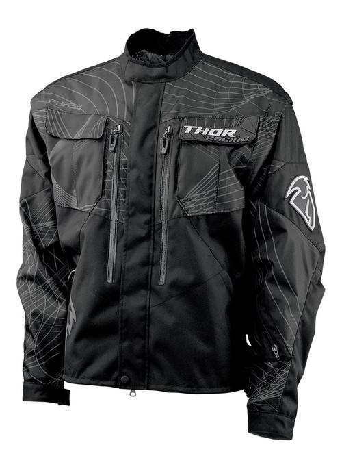 Куртка текстиль Thor S12 black