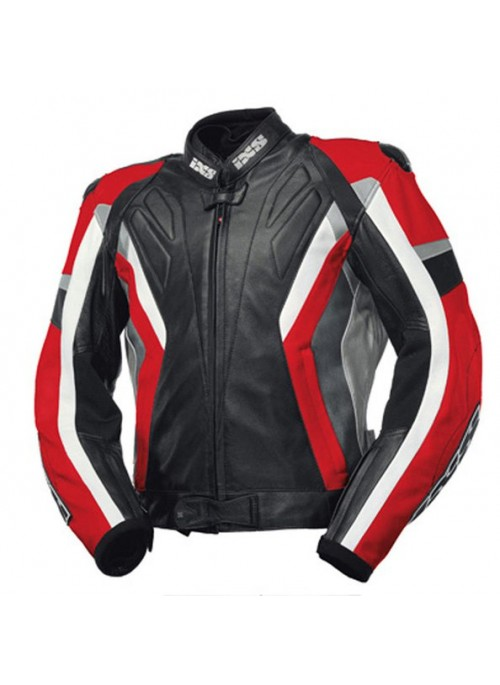 Куртка кожаная IXS Coronado red