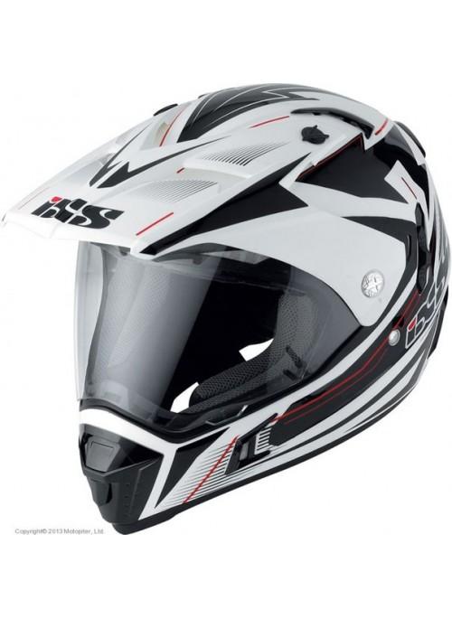 Шлем мотард ixs hx297 route