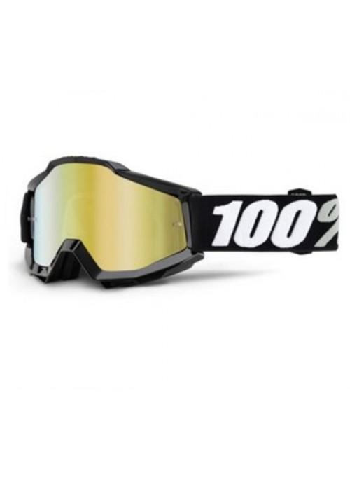 Маска кросс 100% ACCURI Tornado - Mirror Gold Lens