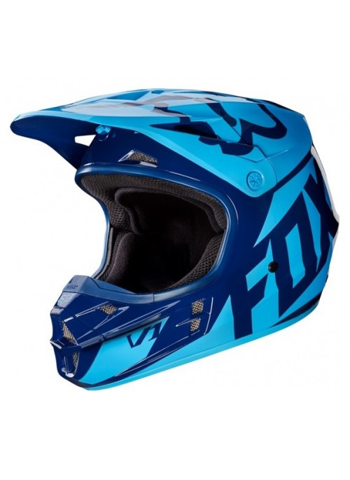 Мотошлем Fox V1 Race Helmet Navy