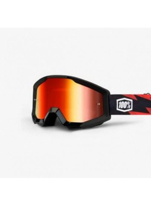 Маска кросс 100% Strata Slash - Mirror Red Lens