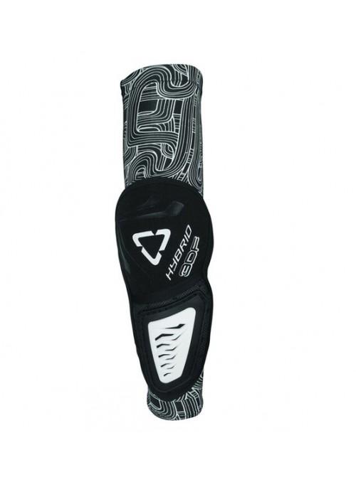 Защита локтя Leatt 3Df Hybrid Black-White (пара)