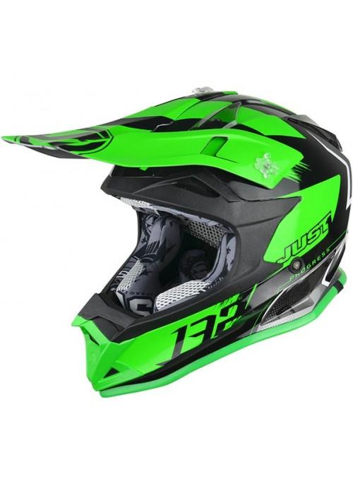 Just1 J32 Pro Kick черно-зеленый (2018)